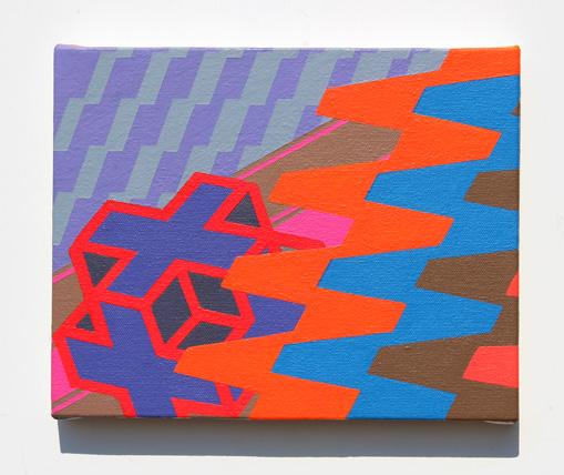 geometric art composition