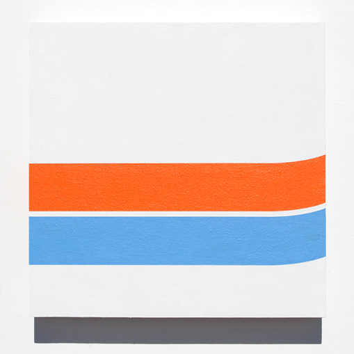 Minimal art painting 39 transporter 39 by grant wiggins for Minimal art betekenis