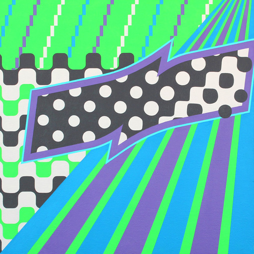 non-objective geometric art