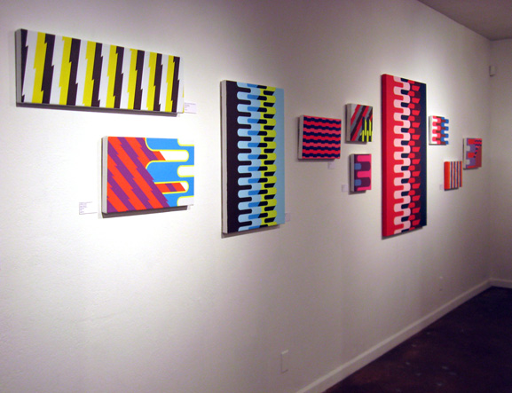 Grant Wiggins in '4Square' at Squeeze Gallery