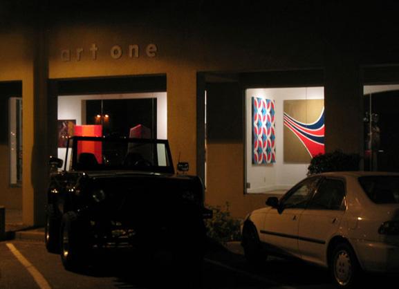 Grant Wiggins at Art One Gallery, Scottsdale AZ