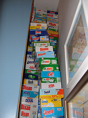 detergent boxes