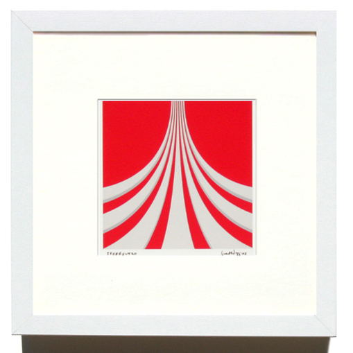 'FF0000uturo' Framed Print by Grant Wiggins
