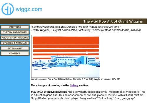 fine art web site