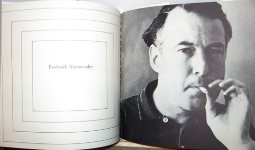 Frederick Hammersley, as pictured in the catalog of the 1959 Four Abstract Classicists exhibition