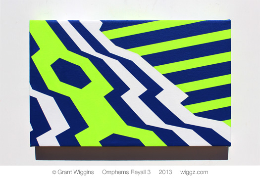 Graphic Geometric Art by Grant Wiggins - Omphems Reyall 2