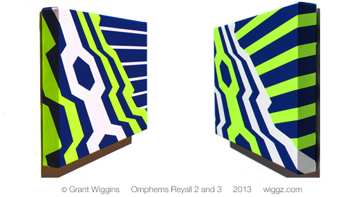 Graphic Geometric Art by Grant Wiggins - Omphems Reyall 3