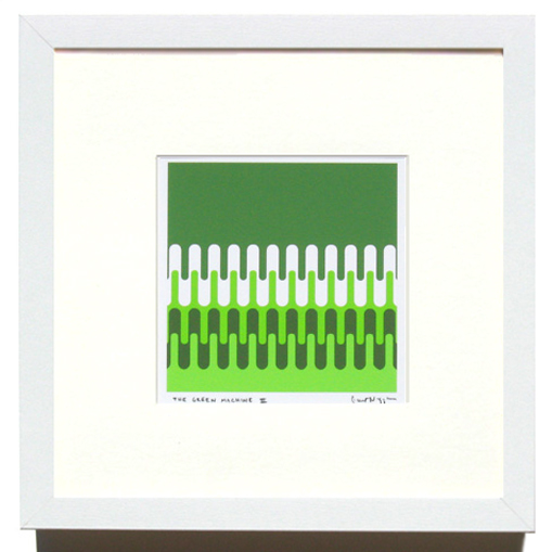 'Green Machine' Framed Print by Grant Wiggins