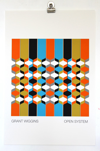 'Open System' Unframed Print by Grant Wiggins