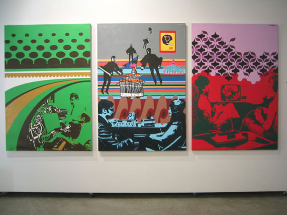 Grant Wiggins: 'Popped Out' at monOrchid Gallery 2003