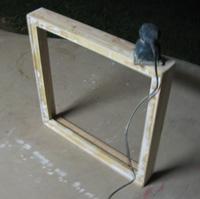 Sanding Stretcher Bars