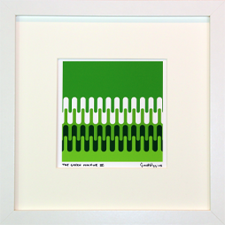 Green Machine Signed Framed Print