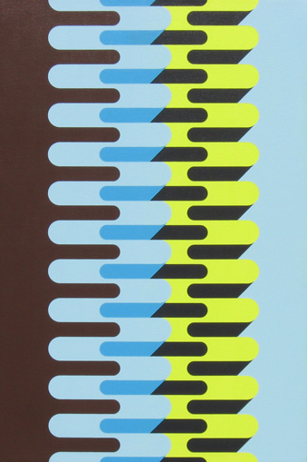 simple geometric paintings