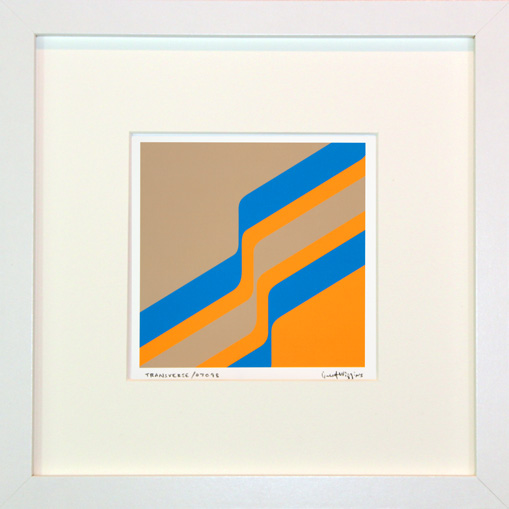 'Transverse 0709B' Framed Print by Grant Wiggins