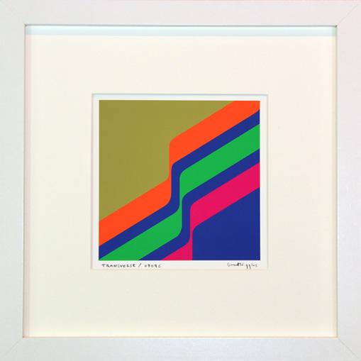 'Transverse 0709C' Framed Print by Grant Wiggins