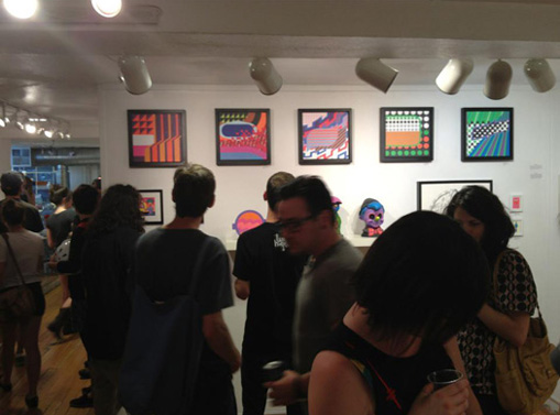 vivid visions at compound gallery in portland