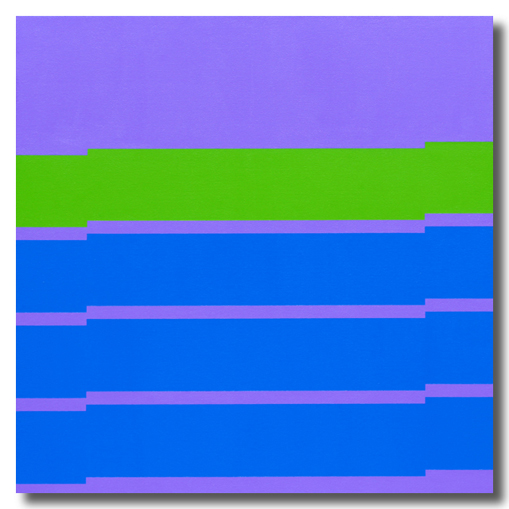 purple minimalist painting by grant wiggins