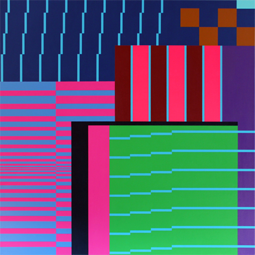 contemporary geometric art