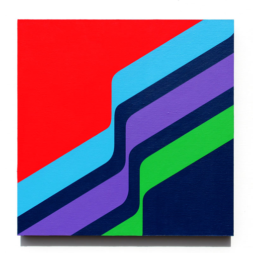grant wiggins – transverse 2 – acrylic on panel-mounted canvas – 2016