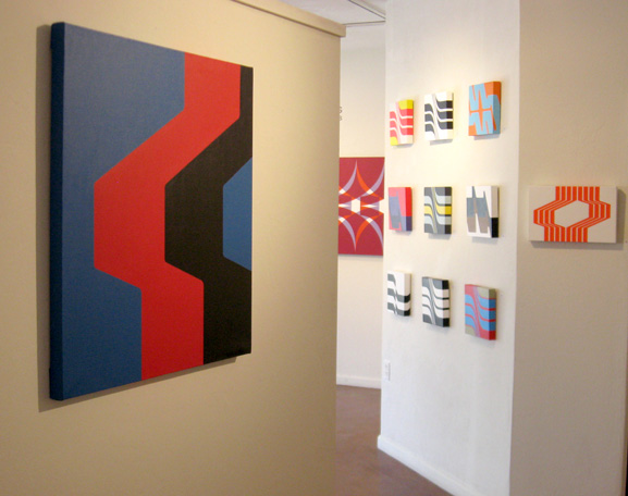 grant wiggins in circles with corners at soyal gallery