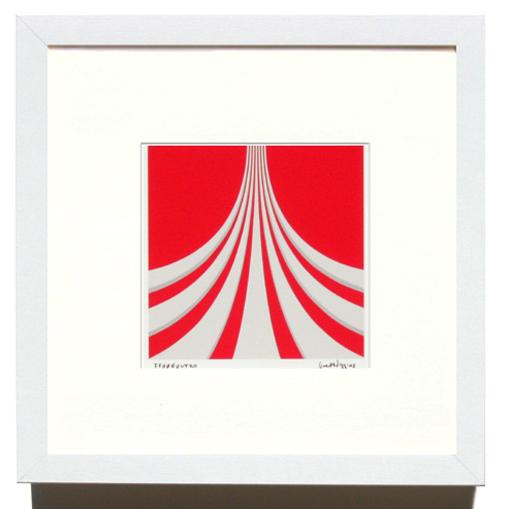'FF0000uturo' Framed Print by Grant Wiggins