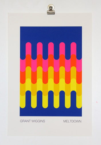 'Meltdown' Unframed Print by Grant Wiggins