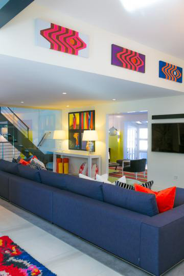 Paintings in Pittsburgh Magazine Home of the Year 2014