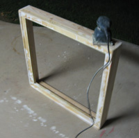 Sanding Stretcher Bars