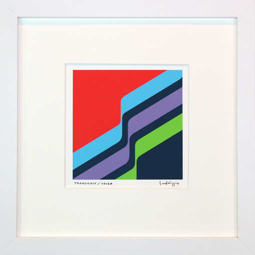 'Transverse 0803A' Framed Print by Grant Wiggins