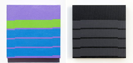 New Minimal Paintings: The 'Voyedge' Series by Grant Wiggins