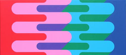 colorful geometric pattern art