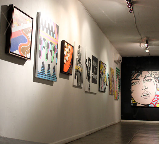 grant wiggins in pop, at 9 the gallery in downtown phoenix